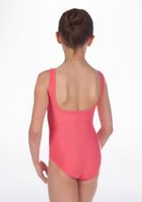 Maillot Ballet Nina sin Mangas Debutant Repetto Rosa #2. [Rosa]