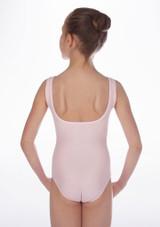 Maillot Ballet Nina sin Mangas Debutant Repetto Rosa #4. [Rosa]