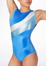 Maillot de gimnasia Jamila GYM30 Tappers & Pointers Azul #3. [Azul]
