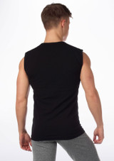 Camiseta hombre sin mangas ni costuras Alvaro de Move Negro #2. [Negro]
