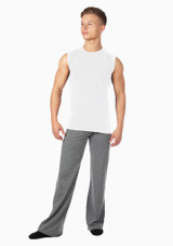 Camiseta hombre sin mangas ni costuras Alvaro de Move Blanco. [Blanco]