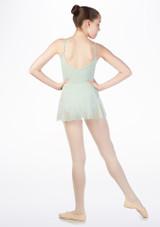 Maillot Ballet Nina con Falda So Danca Verde #2. [Verde]