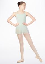 Maillot Ballet Nina con Falda So Danca Verde. [Verde]