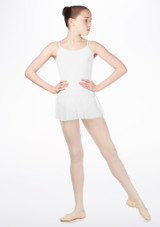 Maillot Ballet Nina con Falda So Danca Blanco. [Blanco]