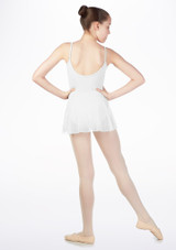 Maillot Ballet Nina con Falda So Danca Blanco #2. [Blanco]