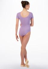 Maillot Ballet Chica Faye Move Dance Violeta trasera. [Violeta]