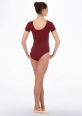 Maillot Ballet Chica Faye Move Dance Rojo trasera. [Rojo]