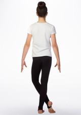 Camiseta de gimnasia Gym Life Elite Blanco trasera. [Blanco]