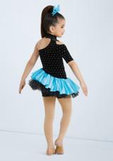 Weissman I Wanna Dance With Somebody Azul trasera. [Azul]