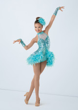 Weissman I Want To Be A Rockette Azul frontal. [Azul]