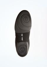Zapatillas deportivas de baile Milo para hombre Anna Kern Negro suela. [Negro]