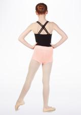 Pantalon corto punto relieve Bloch* Rosa #2. [Rosa]