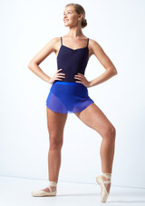 Falda de malla con cinturilla Ballet Rosa