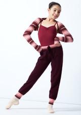 Joggers de danza de punto Ultra para adolescentes Move Dance Fico  Delante-2 [Fico ]