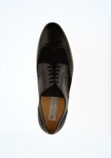 Zapatos Wingtip baile de salon hombre Werner Kern Negro superior. [Negro]