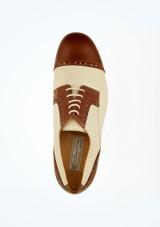 Zapato de salon para hombre Werner Kern Marron Marrón superior. [Marrón]