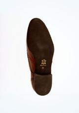 Zapatos Oxford de salon Werner Kern Hombre Marrón suela. [Marrón]