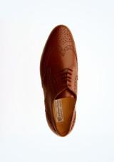 Zapatos Oxford de salon Werner Kern Hombre Marrón superior. [Marrón]