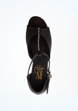 Zapato de baile de salon Jenny Roch Valley de 3 cm Negro superior. [Negro]