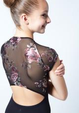 Maillot floral con cremallera Isadora para adolescente Move Dance