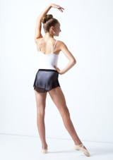 Falda de malla con cinturilla para joven Ballet Rosa