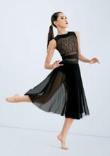 Messed Up Masterpiece Skirt [Negro]