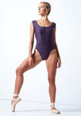 Maillot con escote redondo ancho Anastasia Move Dance Grape  Delante-1 [Grape ]