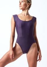 Maillot con escote redondo ancho Anastasia Move Dance Grape  Delante-1T [Grape ]