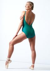 Maillot con espalda baja Audrey Move Dance Azul  Detrás-1 [Azul ]