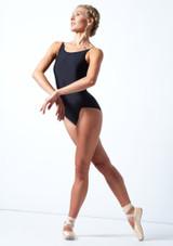 Maillot con espalda baja Audrey Move Dance Negro  Delante-1 [Negro ]