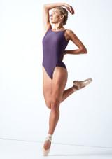 Maillot con espalda baja Audrey Move Dance Grape  Delante-1 [Grape ]