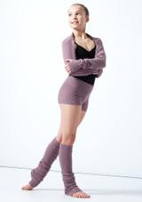 Coprispalle per ragazze lavorato a maglia Daniella Move Dance Violeta  Delante-2 [Violeta ]