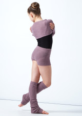 Coprispalle per ragazze lavorato a maglia Daniella Move Dance Violeta  Detrás-1 [Violeta ]