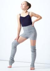 Pantalones cortos de danza con cinturón tejido enrollable Isabella para adolescentes Move Dance