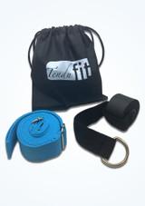 Banda de flexibilidad para la puerta Tendu Negro Azul Delante-1 [Negro Azul]