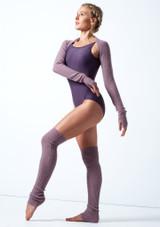 Coprispalle lavorato a maglia Giovanna Move Dance Violeta  Delante-1 [Violeta ]