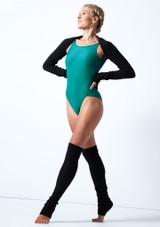Coprispalle lavorato a maglia Giovanna Move Dance Negro  Delante-1 [Negro ]