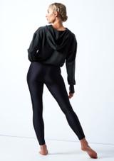 Capucha de baile de jersey Lilly Move Dance Charcoal  Detrás-1 [Charcoal ]