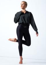 Capucha de baile de jersey Lilly Move Dance Charcoal  Delante-2 [Charcoal ]