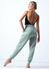 Joggers de danza de jersey Savannah Move Dance Azul  Detrás-1 [Azul ]