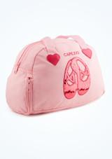 Bolsa Pretty Capezio Rosa Claro  Delante-1 [Rosa Claro ]