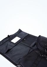 Bolsa de lona para ropa Capezio Negro  Detalle delantero-2 [Negro ]