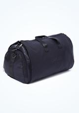 Bolsa de lona para ropa Capezio Negro  Delante-2 [Negro ]