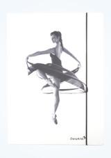 Carpeta Bailarina A4 Intermezzo Blanco  Delante-1 [Blanco ]