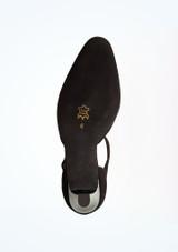 Zapatos de baile Melodie Werner Kern de 6,35 cm Negro suela. [Negro]
