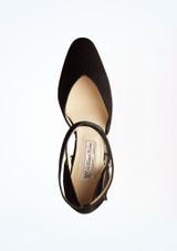 Zapatos de baile Melodie Werner Kern de 6,35 cm Negro superior. [Negro]