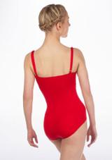 Maillot Ballet Gala Gaynor Minden Rojo #2. [Rojo]