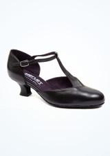Zapatos de Baile Brenda Merlet 4,5cm Negro. [Negro]