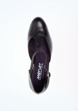 Zapatos de Baile Brenda Merlet 4,5cm Negro #2. [Negro]