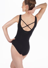 Maillot Ballet Cruzado Confirmes Repetto Negro. [Negro]